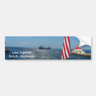 Lake Superior/Duluth, Minnesota Bumper Sticker