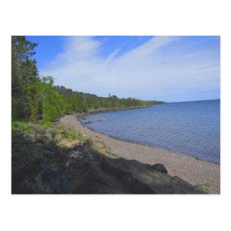 Lake Superior, Duluth MN Postcard