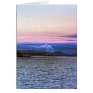 Lake Superior Evening Greeting Card