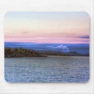Lake Superior Evening Mouse Pad