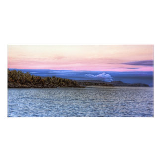 Lake Superior Evening Photo Greeting Card