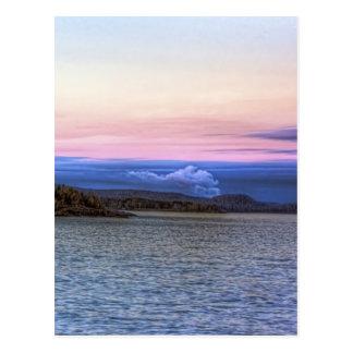 Lake Superior Evening Postcard
