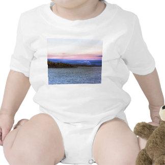 Lake Superior Evening Baby Bodysuit