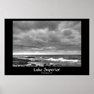 Lake Superior, Grand Marais, MN Poster