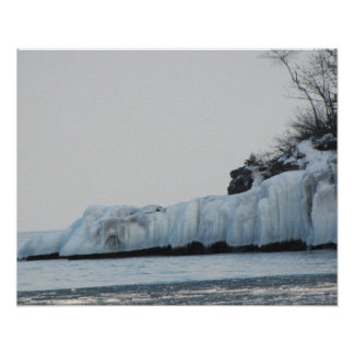 Lake Superior Ice Print