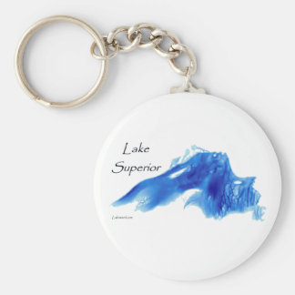 Lake Superior InDepth Keychain