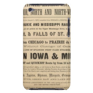 Lake Superior Iowa and Minnesota Advertisement iPod Touch Case-Mate Case