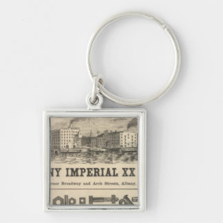 Lake Superior Iowa and Minnesota Advertisement Keychain