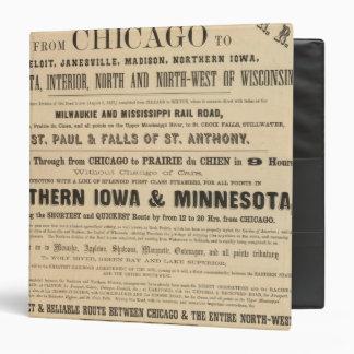 Lake Superior Iowa and Minnesota Advertisement Vinyl Binders