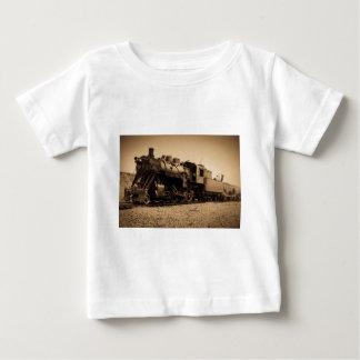Lake Superior & Ishpeming Railroad #20 Sepia Baby T-Shirt
