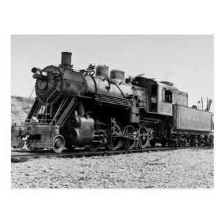 Lake Superior & Ishpeming Railroad Engine  #20 Postcard
