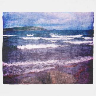 Lake Superior Islands Fleece Blanket