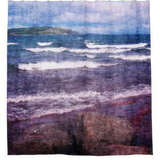 Lake Superior Islands Shower Curtain