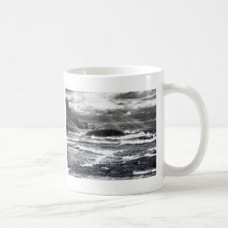 Lake Superior Lightrays Coffee Mug