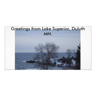Lake Superior Magnet and Photo Card