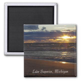 Lake Superior MI Refrigerator Magnet