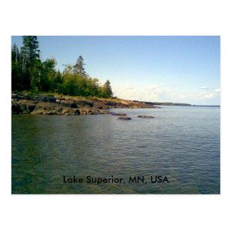 Lake Superior, MN, USA postcard