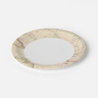 Lake Superior Paper Plate