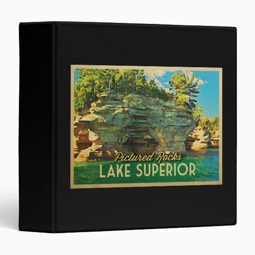 Lake Superior Pictured Rocks Binder