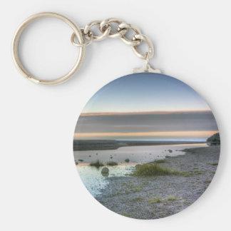 Lake Superior Shore Keychain