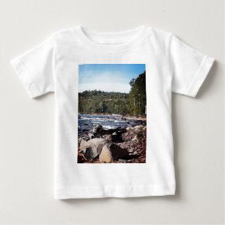 Lake Superior Shoreline Abstract Tee Shirts
