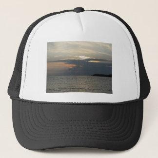 Lake Superior Sunset 1 Trucker Hat