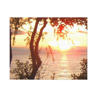 Lake Superior Sunset Canvas Print