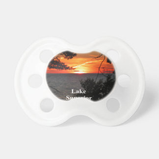 Lake Superior Sunset Pacifier