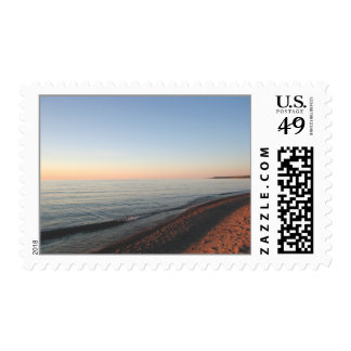Lake Superior Sunset Postage