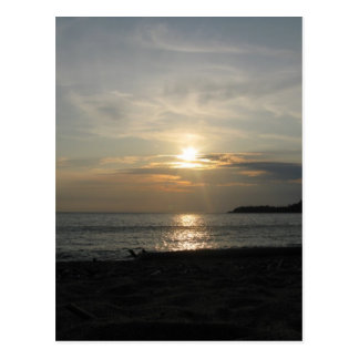 Lake Superior Sunsets Postcard