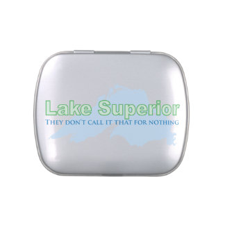 Lake Superior; They don't call it that for nothing Candy Tins