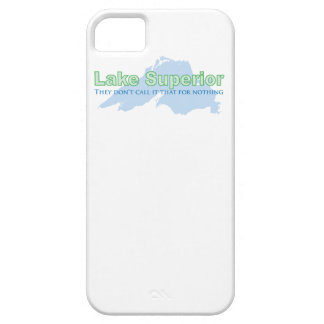 Lake Superior; They don't call it that for nothing iPhone 5 Cover