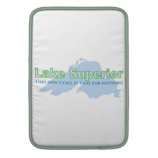 Lake Superior; They don't call it that for nothing Sleeve For MacBook Air