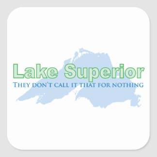 Lake Superior; They don't call it that for nothing Sticker