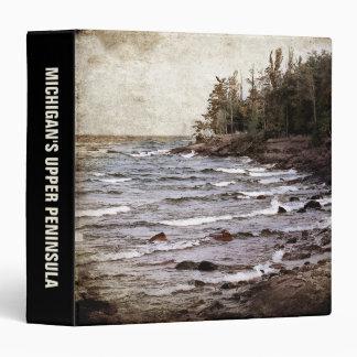 Lake Superior Waves Binder