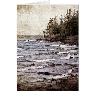 Lake Superior Waves Card
