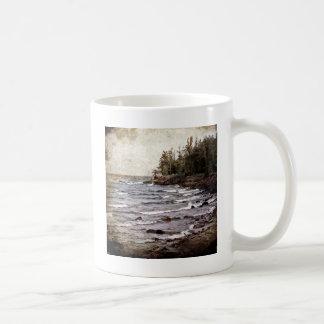 Lake Superior Waves Coffee Mug