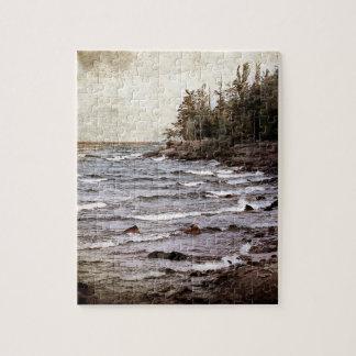 Lake Superior Waves Jigsaw Puzzle