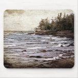 Lake Superior Waves Mousepads