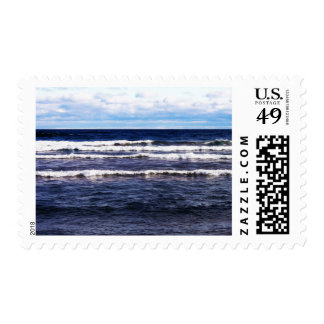 Lake Superior White Caps Postage