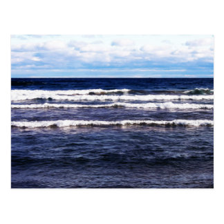 Lake Superior White Caps Postcard