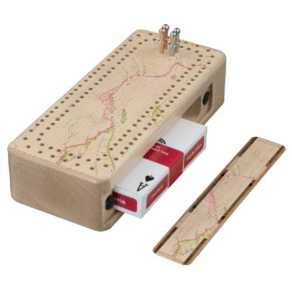 Lake Superior Wood Cribbage Board