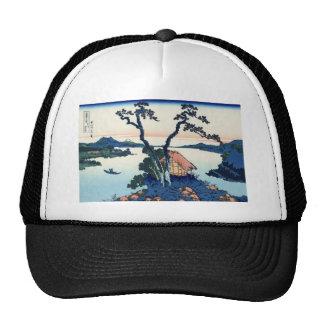 Lake Suwa in Shanano Provence Trucker Hats
