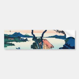 Lake Suwa in Shinano Province Bumper Sticker