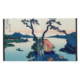 Lake Suwa in Shinano Province iPad Cases