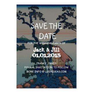 "Lake Suwa in Shinano Province 5"" X 7"" Invitation Card"