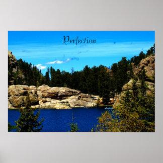 Lake Sylvan Poster from South Dakota/Motivational