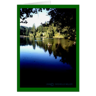 Lake Sylvia Blank Card