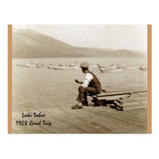 Lake Tahoe - 1908 Postcard