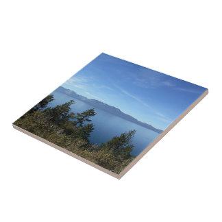 Lake Tahoe 3 Small Square Tile